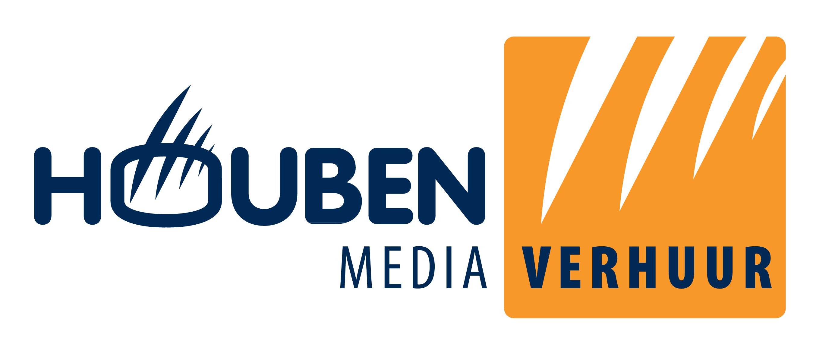 Houben Mediaverhuur logo 2011 HR